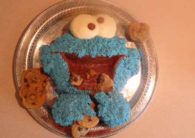 2012-01-20 Cookie Monster cake 04